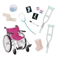 Our Generation: Heals on Wheels - Deluxe Accessory Set