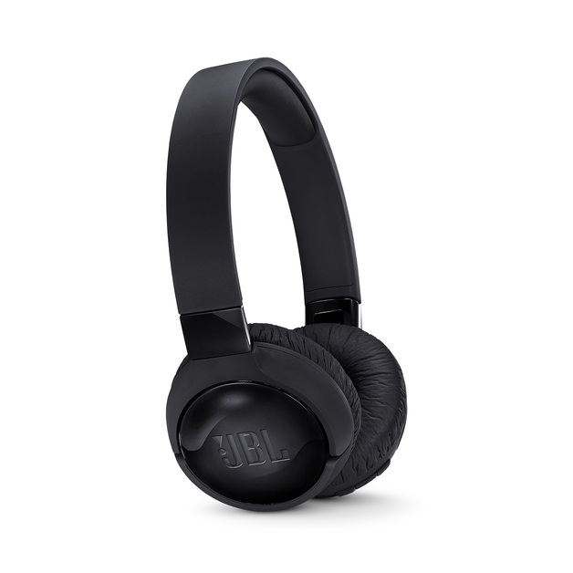 JBL T600 Noise-Cancelling Bluetooth Headphones - Black