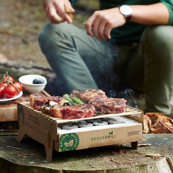 CasusGrill - Single Use Grill Box BBQ
