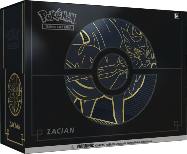 Pokemon TCG: Sword & Shield Elite Trainer Box Plus - Zacian V