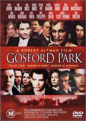 Gosford Park on DVD