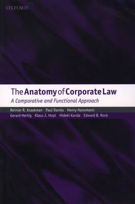 The Anatomy of Corporate Law: A Comparative and Functional Approach