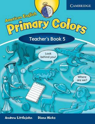 American English Primary Colors 5 Teacher's Book: Level 5 by Diana Hicks image