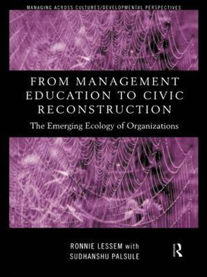 From Management Education to Civic Reconstruction by Ronnie Lessem image