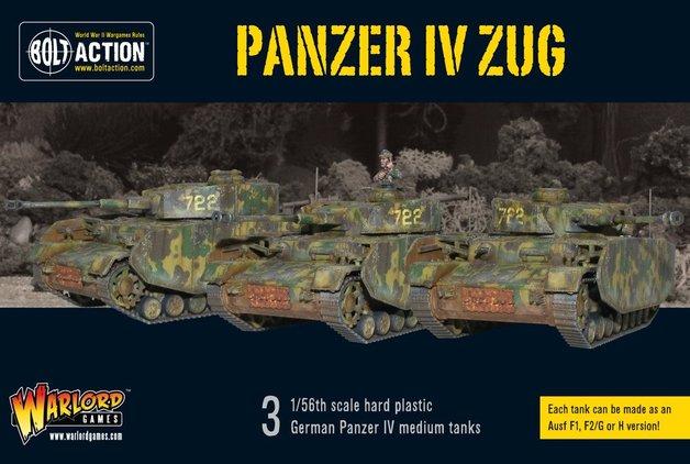 Bolt Action: Panzer IV Zug - Tank Platoon