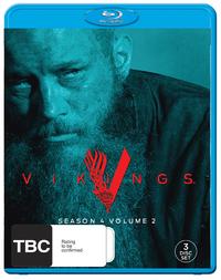 Vikings: Season 4 - Volume 2 on Blu-ray