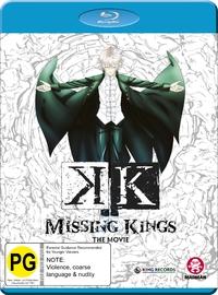 K' The Movie: Missing Kings on Blu-ray