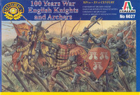 Italeri British Warriors (100 Years War) 1:72 Model Kit