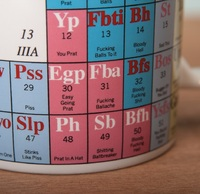 periodic table of swearing mug - Periodic Table Mug Australia