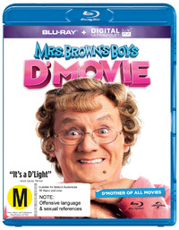 Mrs Brown's Boys D'Movie on Blu-ray, UV