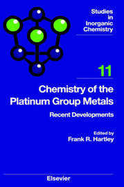 Chemistry of the Platinum Group Metals: Volume 11