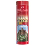 Faber Castell Classic: Coloured Pencils - Tin of 36