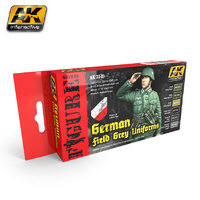 AK German Field Grey Uniforms Paint Set