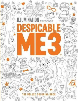 Despicable Me: The Deluxe Coloring Book by Insight Editions image