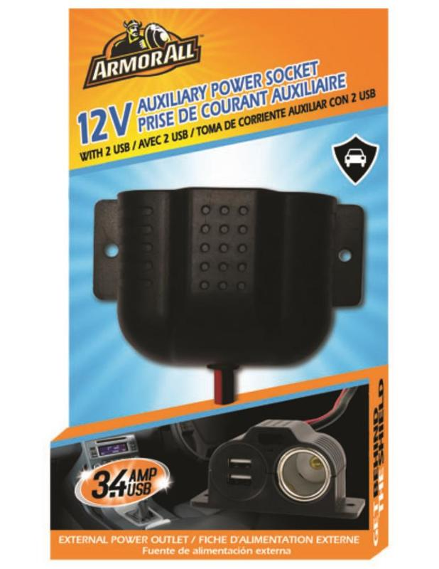 Armor All: 12v Auxilary Power Socket