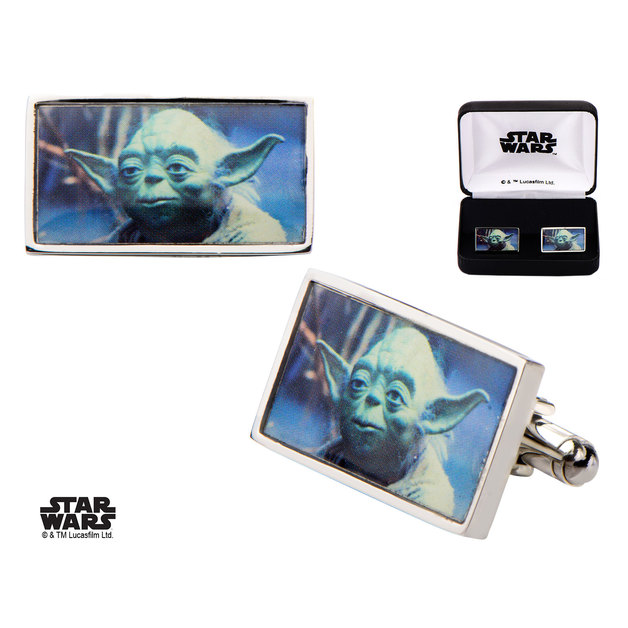 Star Wars: Yoda - Rectangle Cufflinks