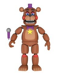 "Five Nights at Freddy's - Rockstar Freddy 5"" Articulated Figure"