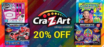 20% off Cra-Z-Art!