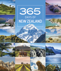 365 Days in New Zealand 2019 Deluxe Wall Calendar
