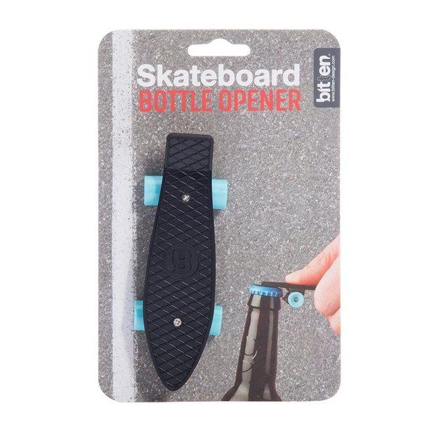Bitten: Black Skateboard Bottle Opener