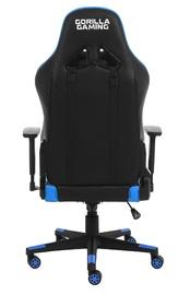 Gorilla Gaming Commander Elite Chair - Black & Blue for