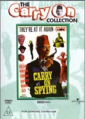 Carry On Spying on DVD