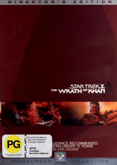Star Trek 02 - Wrath of Khan - Special Edition (2 Disc) on DVD