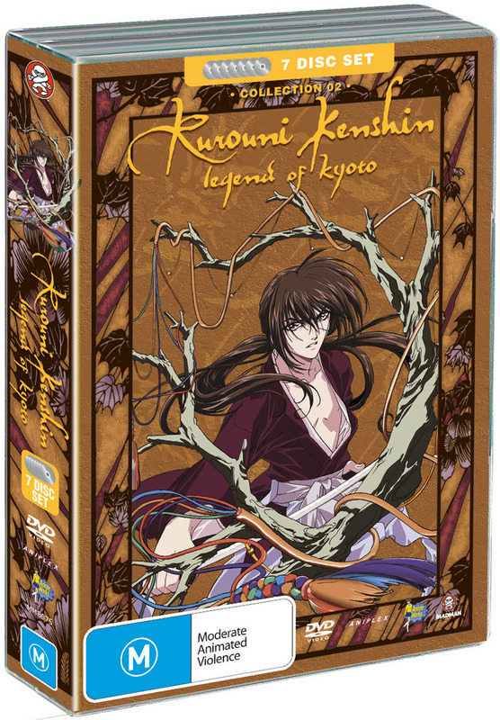 Rurouni Kenshin - Box 2 - Legend of Kyoto Collection (Fatpack) on DVD