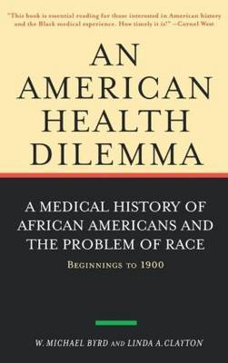 An American Health Dilemma by W.Michael Byrd image