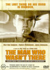 The Man Who Wasn't There on DVD