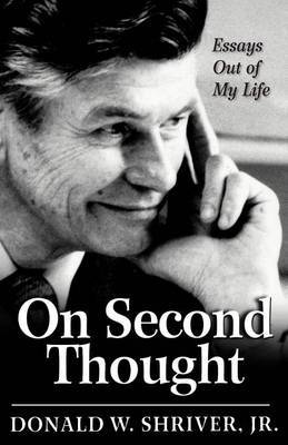 On Second Thought by Donald W Shriver image