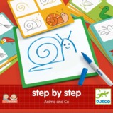 Djeco: Learn To Draw - Step By Step Animals