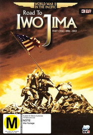 World War II in the Pacific - Road to Iwo Jima: Part 1 - 1941-1943 (3 Disc Set) on DVD image