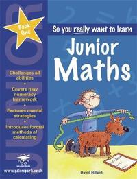 Junior Maths: Book 1 by David Hilliard image