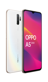 OPPO A5 (2020) (64GB/3GB RAM) - Dazzling White image