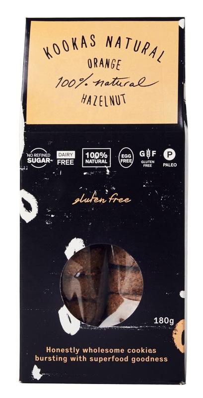 Franjos Kitchen: Kooka's Natural Biscuits – Gluten-Free Orange Hazelnut(180g)