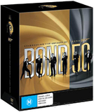 Bond 50 Complete Collection Box Set - James Bond 007 DVD