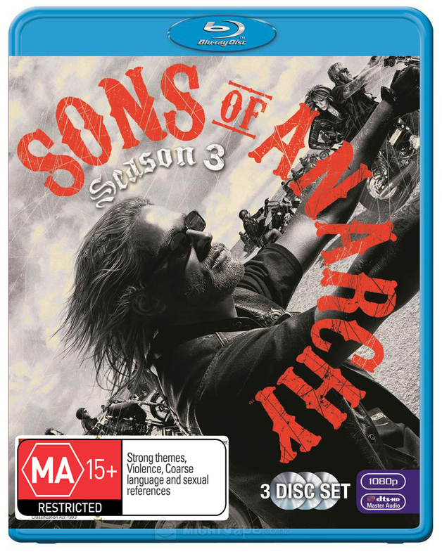 Sons of Anarchy - The Complete Third Season on Blu-ray