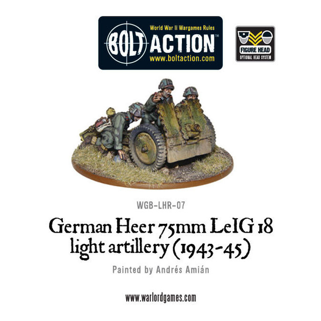 German Army - Heer 75mm LEiG 18 Artillery