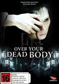 Over Your Dead Body on DVD