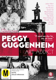 Peggy Guggenheim: Art Addict on DVD image