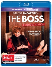 The Boss on Blu-ray