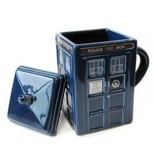 Doctor Who - Tardis Mug with Removable Lid