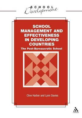 School Management and Effectiveness in Developing Countries by Clive Harber image
