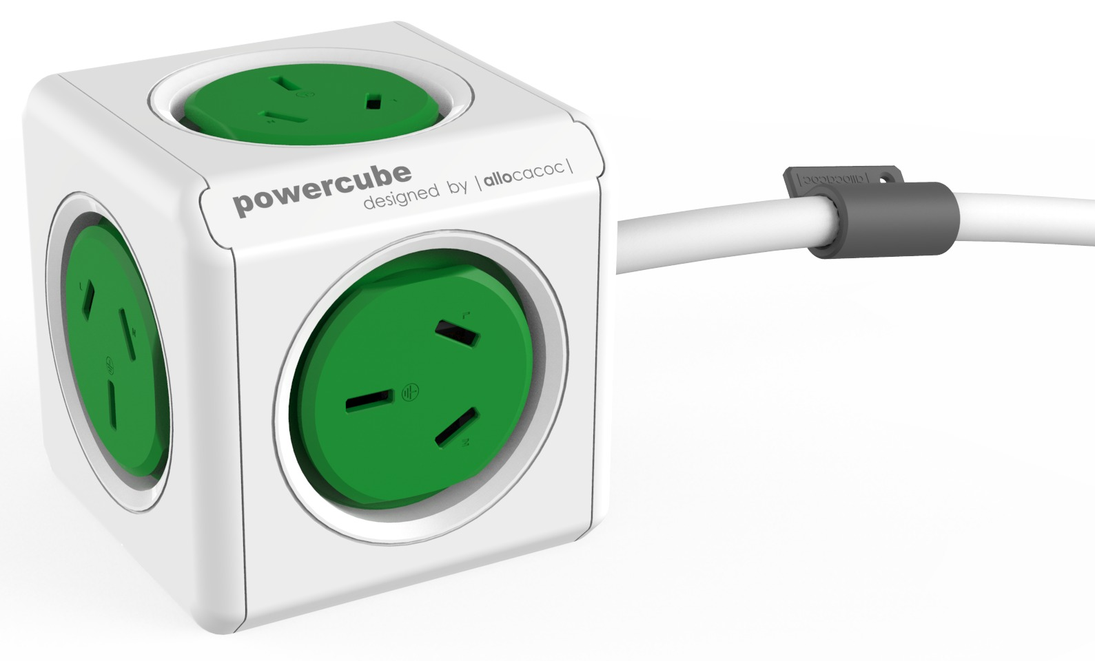 allocacoc PowerCube Extended 1.5m - 5 Outlets image