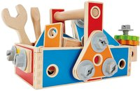Hape: Handyman Go To Caddy - Wooden Tool Box Set image
