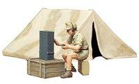 Tamiya 1/35 German Africa Corps Tent Set - Model Kit image