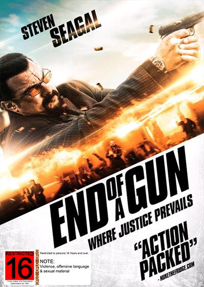 End of a Gun on DVD image