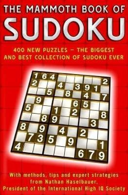 The Mammoth Book of Sudoku by Nathan Haselbauer image