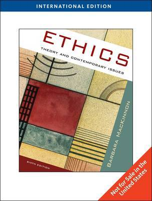 Ethics by Barbara MacKinnon image